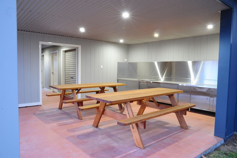 Australian made picnic tables used indoors