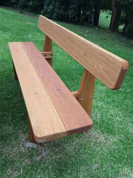Wooden Outdoor furniture bench seat